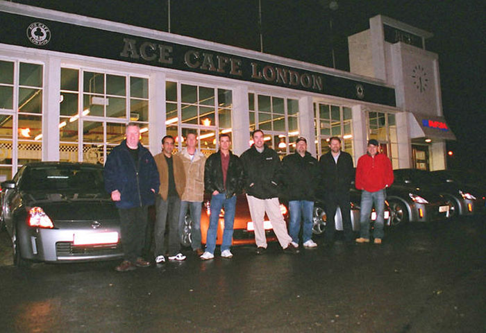 Ace Cafe Meet December 2003
